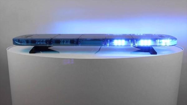 Bullit Basic LED Warnbalken - DIN Blau - 1380 mm - 12/24 Volt - ECE R65 Klasse 2 Zulassung