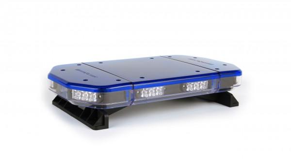 Spartan LED Mini Warnbalken - 550 mm - DIN Blau - Magnetmontage - 12 Volt