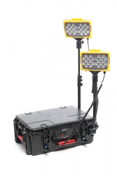 Tragbares Flutlichtsystem