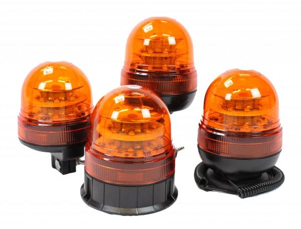 V200 LED Rundumleuchte - Gelb - Fixmontage - ECE R65