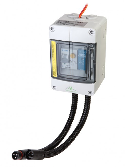 Batterieladesystem Set DEFA Champ II inkl. Netzverteiler