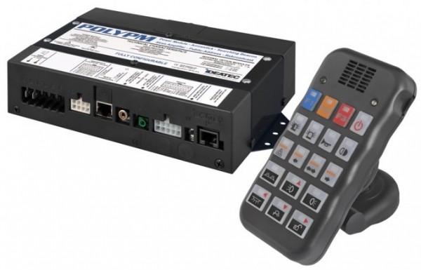 PolyPM Steuerungssystem mit integrierter Sondersignalanlage und Sprachdurchsage